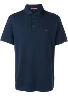 Michael Kors logo print polo shirt
