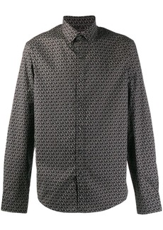 Michael Kors logo print slim-fit shirt