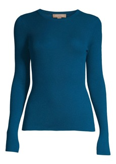 Michael Kors Long-Sleeve Cashmere Sweater