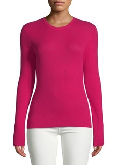 Michael Kors Long-Sleeve Cashmere Top