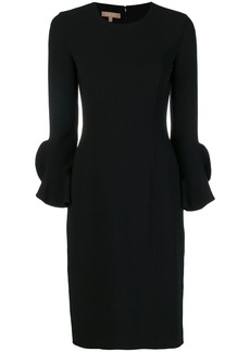 Michael Kors long-sleeve fitted dress