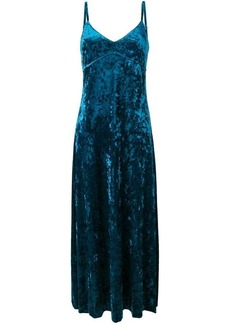 Michael Kors long velvet dress