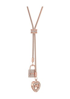 Michael Kors Love Is In The Air Double Pendant Necklace