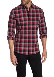 Michael Kors Maxwell Plaid Print Slim Fit Shirt