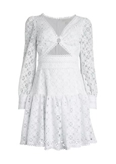 MICHAEL Michael Kors Medaillon Lace Dress
