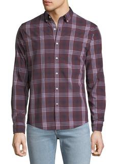 Michael Kors Men's Abner Plaid Slim Sport Shirt