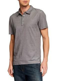 Michael Kors Men's Birdseye-Trim Polo Shirt