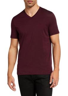 Michael Kors Men's Cotton V-Neck T-Shirt