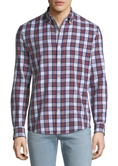 Michael Kors Men's Curt Double-Face Slim Sport Shirt