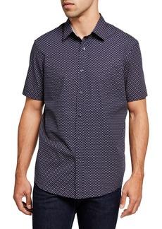 Michael Kors Men's Declan-Print Sport Shirt