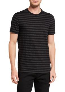 Michael Kors Men's Herringbone Stripe T-Shirt