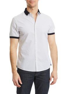 Michael Kors Men's Kirk Slim Printed Short-Sleeve Shirt