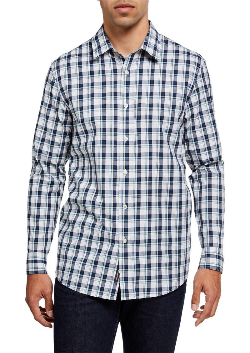 Michael Kors Men's Loren Plaid Sport Shirt