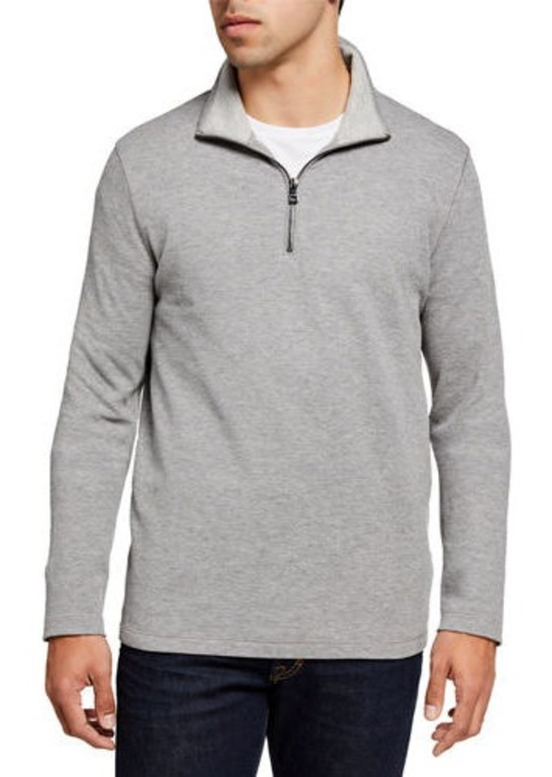 Michael Kors Men's Pique 1/4-Zip Sweater