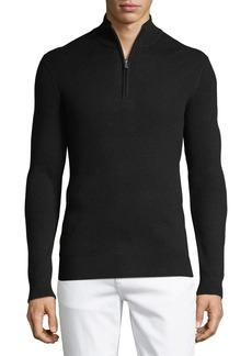 Michael Kors Men's Ribbed Mock-Neck Sweater