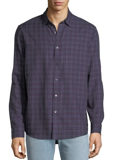 Michael Kors Men's Roman Check Sport Shirt