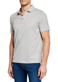 Michael Kors Men's Short-Sleeve Metal-Button Polo Shirt