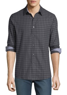 Michael Kors Men's Tailor Check Sport Shirt