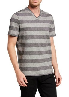 Michael Kors Men's Tipped Stripe T-Shirt
