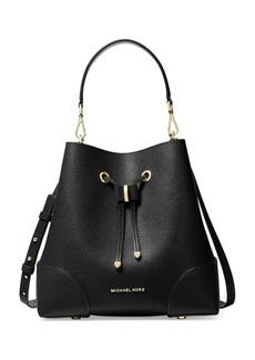 MICHAEL Michael Kors Mercer Gallery Leather Bucket Shoulder Bag