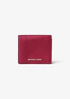 Michael Kors Mercer Leather Card Case