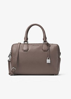 Michael Kors Mercer Medium Leather Duffel