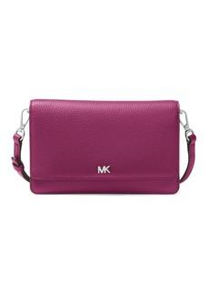 MICHAEL Michael Kors Mercer Pebbled Leather Crossbody Bag