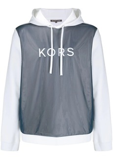 Michael Kors mesh-panelled sweatshirt