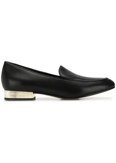 Michael Kors metal heel loafers