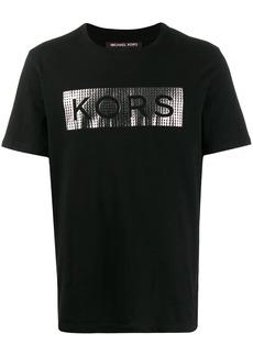 Michael Kors metallic logo relaxed-fit T-shirt