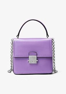 Michael Kors Mia French Calf Shoulder Bag