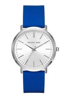 MICHAEL Michael Kors 41.5mm Jaryn Watch w/ Silicone Strap