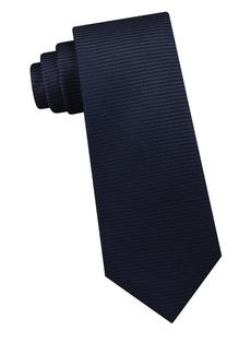 Michael Kors Artisanal Surface Gradient Silk Tie