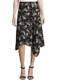 Michael Kors Asymmetric Slip Skirt