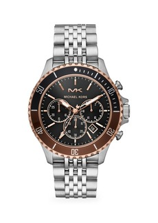 Michael Kors Bayville Stainless Steel Chronograph Watch
