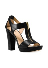 Michael Kors Berkley Platform Leather Sandals