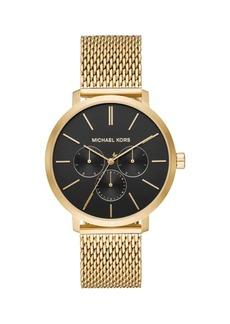 Michael Kors Blake Stainless Steel Mesh Bracelet Chronograph Watch