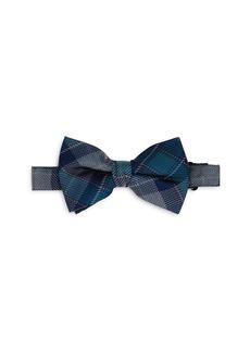 Michael Kors Boys' Plaid Silk Bow Tie