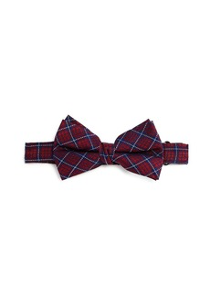 Michael Kors Boys' Tartan Silk Bow Tie