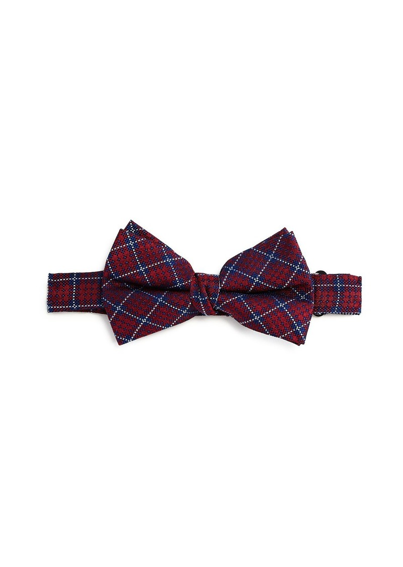 Michael Kors Boys' Tartan Silk Bow Tie