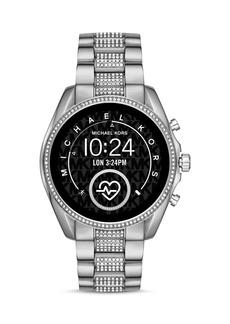 Michael Kors Bradshaw 2 Pav� Link Bracelet Touchscreen Smartwatch, 44mm
