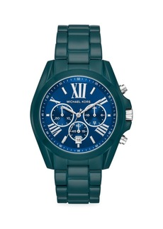 Michael Kors Bradshaw Stainless Steel Chronograph Watch