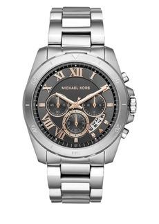 Michael Kors Brecken Stainless Steel Bracelet Chronograph Watch