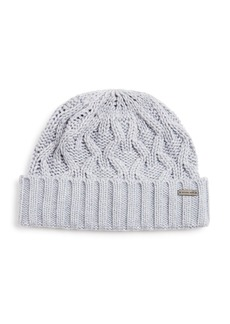 Michael Kors Cable-Knit Cuff Hat