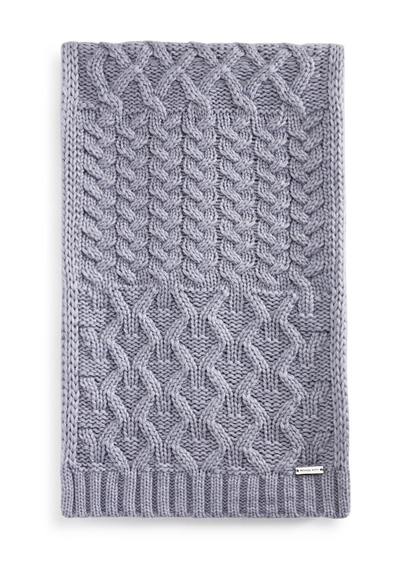Michael Kors Cable-Knit Muffler