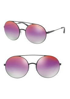 Michael Kors Cabo 55MM Round Sunglasses