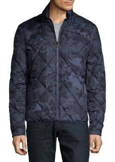 Michael Kors Camo Packable Pillow Jacket