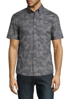 Michael Kors Camo Storm Button-Down Shirt