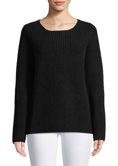 Michael Kors Collection Cashmere Chunky-Ribbed Sweater