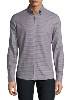 Michael Kors Checkered Casual Button-Down Shirt